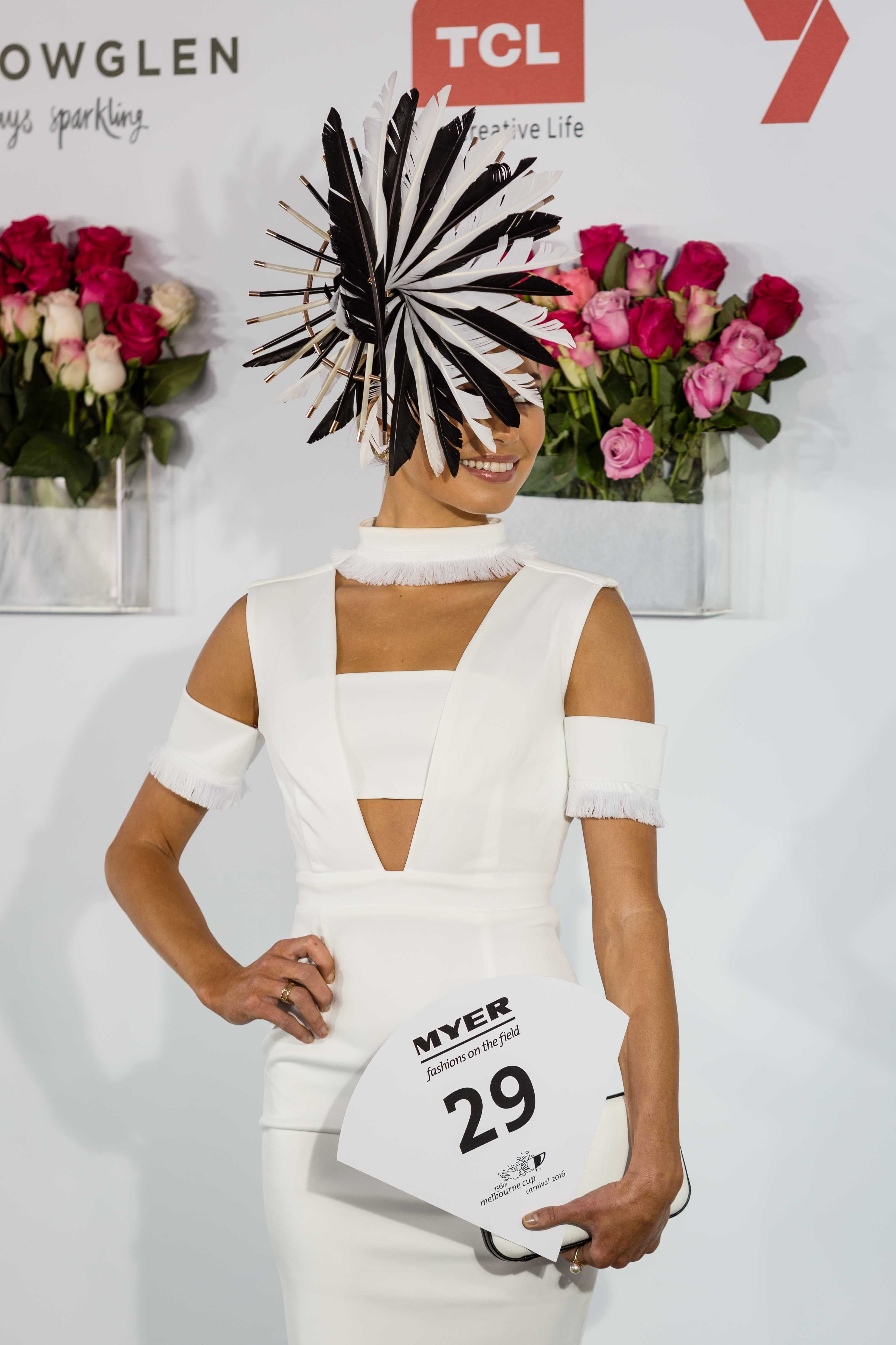 ELLE s Best Dressed From The 2017 Kennedy Oaks Day ELLE 62